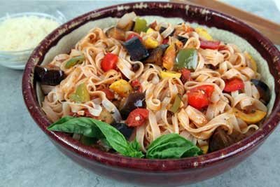Ratatouille Notta Pasta  Recipe