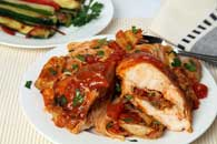 Chicken Calabrese in Artichoke Sauce Recipe