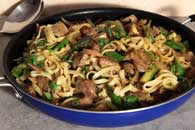 Lamb and Asparagus Curry Notta Pasta Recipe