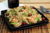 Notta Pasta Shrimp and Fruit Salad Recipe