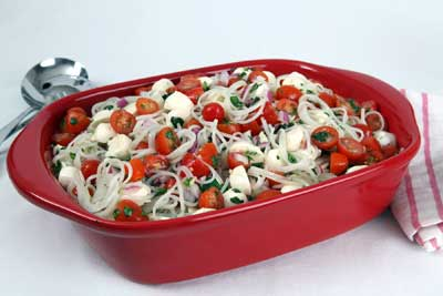 Fresh Mozzarella and Tomato Notta Pasta Recipe