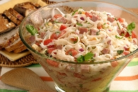 Smoked Ham and Cheese Pasta Salad Recipe