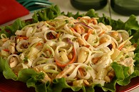 Chicken Salad with Broccoli Slaw  Recipe