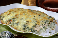 Turkey and Pasta Florentine Recipe