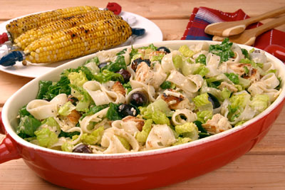 Chicken and Pasta Caesar Salad Recipe