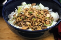 Rice Pasta with Mushroom Sauce Recipe