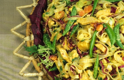 Curried Turkey and Vegetable Salad Recipe