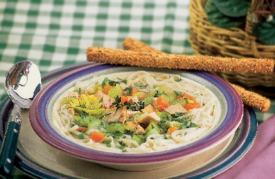 Old Fashioned Herbed Chicken Soup  Recipe