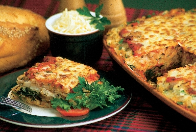 Turkey Sausage and Spinach Lasagna Recipe