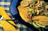 Flounder with Vegetables Notta Pasta Recipe
