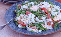 Salmon and Asparagus Pasta Salad Recipe