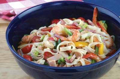 Jambalaya Rice Pasta Salad Recipe