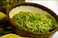 Notta Pasta with Sesame Basil Pesto Recipe